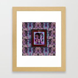 """""""Carny Twins on mirror tiles"""" by surrealpete Framed Art Print"""