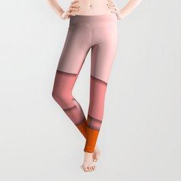 PINK PAPER SHEETS Leggings