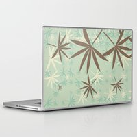 1d Laptop & iPad Skins featuring Leaves 1D by Patterns of Life
