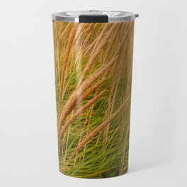 Field of  Beach Grass Travel Mug