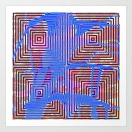 Trance Residue Art Print