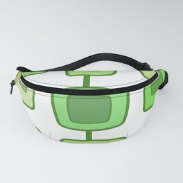 MidCentury Modern Swatches (Chartreuse) Fanny Pack