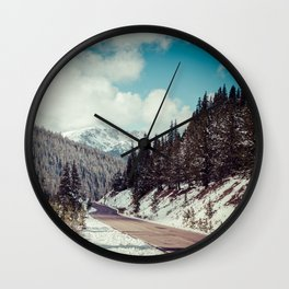 Independence Pass // Aspen, CO Wall Clock