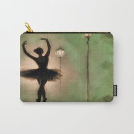 Dancing Silhouette Carry-All Pouch