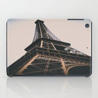 eiffel tower iPad Cases featuring Eiffel Tower by Christine Workman