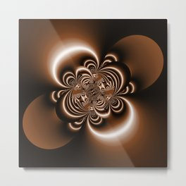 3D - abstraction -50a- Metal Print