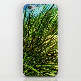 just green iPhone Skin