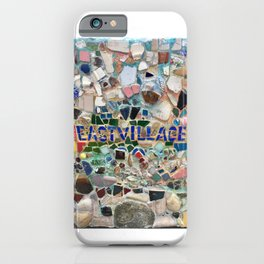 East Village NYC Mosaic artwork by Jim Power iPhone Case