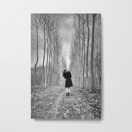 Little Human Artwork - Lost Metal Print