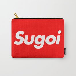 """Supreme inspired """"Sugoi"""" Carry-All Pouch"""