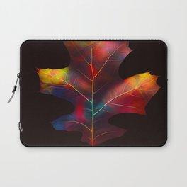 Rainbow Leaf Laptop Sleeve