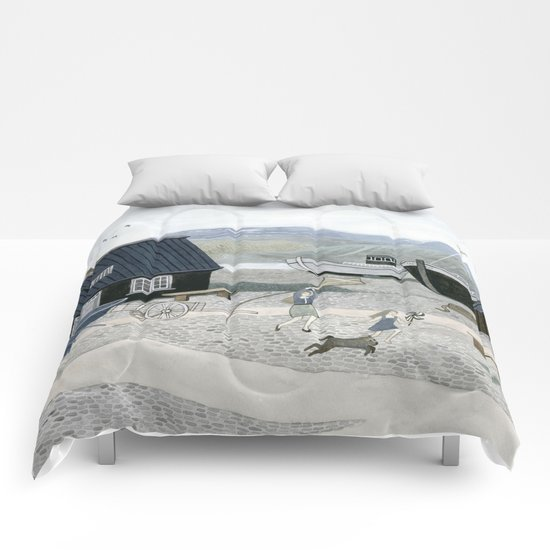 North Fishing Village Comforters