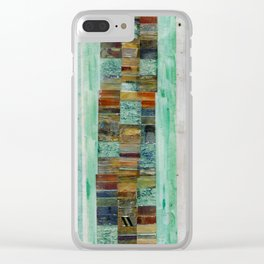 Vertical Search Clear iPhone Case