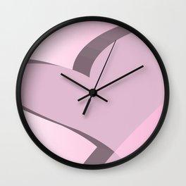 Geometric Calendar - Day 45 Wall Clock