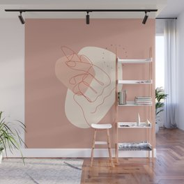 Fashion Line Poster Wall Mural
