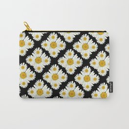 Daisy On Daisy Carry-All Pouch