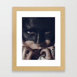 The Gaze Framed Art Print