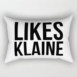 Likes Klaine Rectangular Pillow
