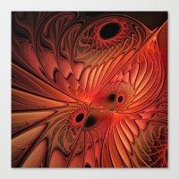 fractal design -124- Canvas Print