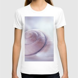 Snail shell blue emotion T-shirt