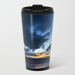 Nocturnal Cloud Spectacle on Danish Sky Travel Mug