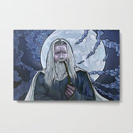 The One Who Was Never Late Metal Print