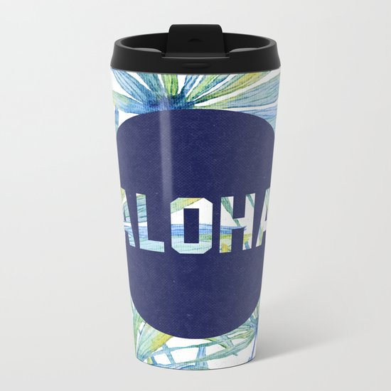 Aloha Metal Travel Mug