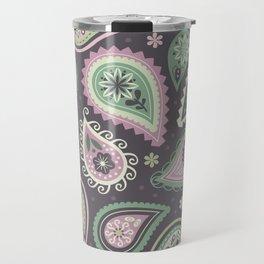 Soft romatic paisleys Travel Mug