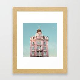Hotel Opera Framed Art Print