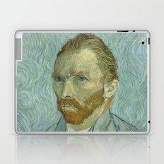 Van Gogh Portrait Laptop & iPad Skin