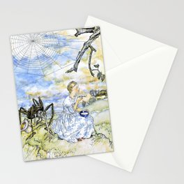 Arthur Rackham - Little Miss Muffet - Digital Remastered Edition Stationery Cards