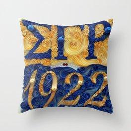 Sigma Gamma Rho 1922 Throw Pillow