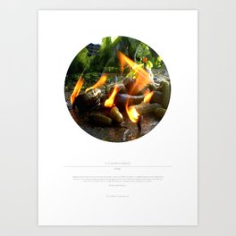 The Trickle Down (This Burning World 4) Art Print