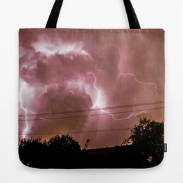 Electric Madness Tote Bag