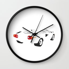 Lamborghini Countach Wall Clock