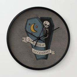 So Long And Goodnight Wall Clock