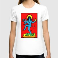 keith haring T-shirts featuring Shiva Keith Haring Tribute by Tshirtbaba