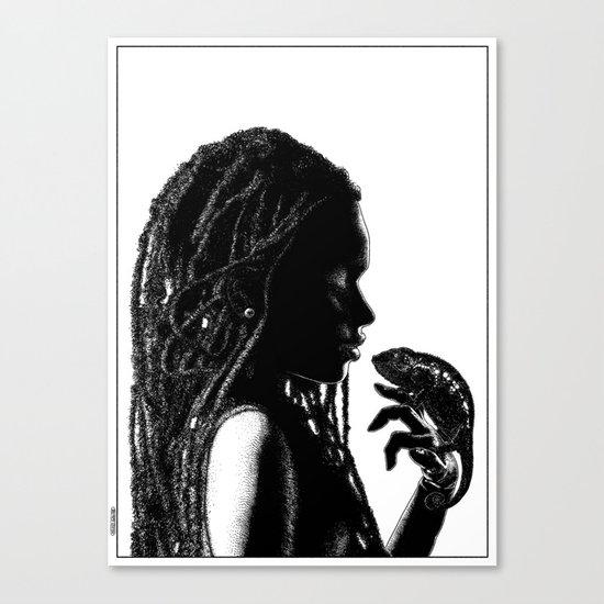 asc 659 La transformation (An african tale) Canvas Print