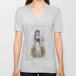 The Empty Live There/Carrion Flowers Unisex V-Neck