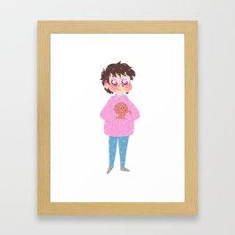 Yuuri Katsuki Framed Art Print