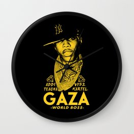 VYBZ KARTEL WORLD BOSS Wall Clock