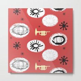 Sea Urchin Trumpets Metal Print