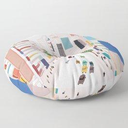 Shibuya 109 Floor Pillow