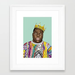 Biggie, notorious BIG Framed Art Print