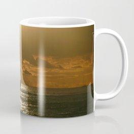 Honolulu Sunset Sail Coffee Mug