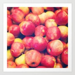 Bobbing For Apples Art Print