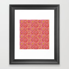 Circle in A Square Framed Art Print