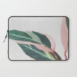 Pink Leaves II Laptop Sleeve