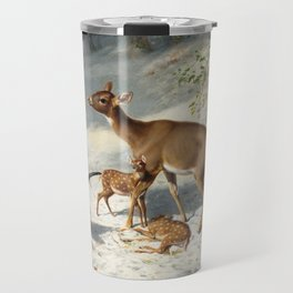 Maternal Solicitude - By Arthur Fitzwilliam Tait Travel Mug
