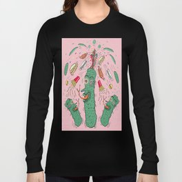 Pickle Boy and the Sandwiches Long Sleeve T-shirt